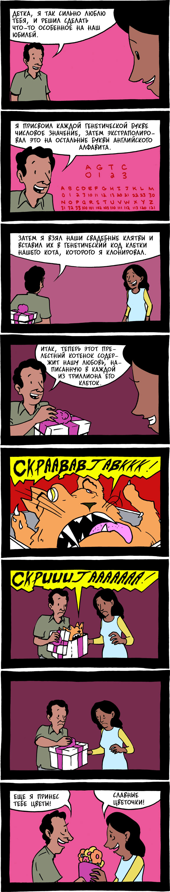 Комикс Saturday Morning Breakfast Cereal: выпуск №4