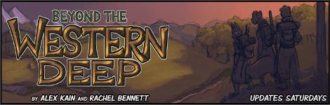 Комикс Beyond the Western Deep на портале Авторский Комикс