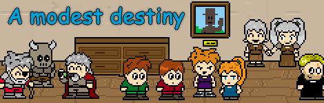 Комикс A Modest Destiny на портале Авторский Комикс