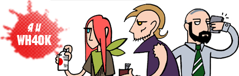 Комикс Я и Warhammer 40K на портале Авторский Комикс