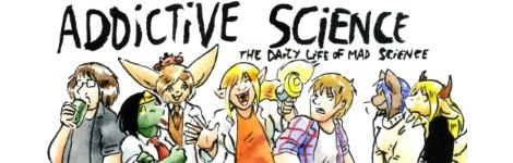 Комикс Захватывающая наука [Addictive Science] на портале Авторский Комикс