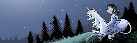 Комикс Фиби и её единорог на портале Авторский Комикс