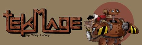Комикс Техномаг [tekMage] на портале Авторский Комикс
