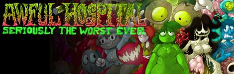 Комикс Awful Hospital: Seriously the Worst Ever на портале Авторский Комикс