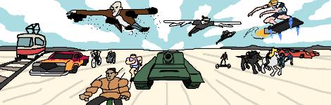 Комикс Steel Ball Ban на портале Авторский Комикс